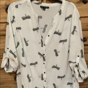 Tops - Dragon fly blouse